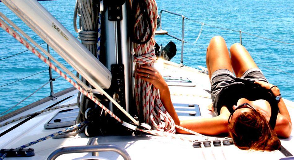 Enjoy the sailing and sunshine